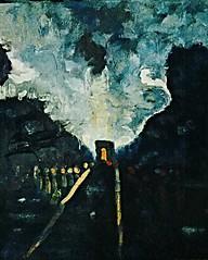 Twilight Avenue (The Big Jiggety) Tags: oil painting dramatic huile peinture romantique oleo pintura lienzo tableau paris france champselysées michael kent romantic romantico