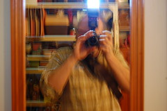 Flashman (basswulf) Tags: d40 1855mmf3556g lenstagged unmodified 32 image:ratio=32 permissions:licence=c 20161223 201612 3008x2000 flash wulf selfportrait mirror blur