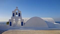 ISOLA DI SANTORINI - OIA - GRECIA (cannuccia) Tags: grecia oia santorini isole architettura campanili campane bianco dettagli geometrie croci curve chiese religione