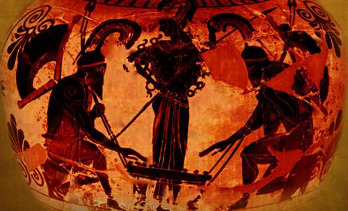 "Petteia - Ludus Latrunculorum  / Iconografía de las civilizaciones helenolatinas • <a style=""font-size:0.8em;"" href=""http://www.flickr.com/photos/30735181@N00/32522207155/"" target=""_blank"">View on Flickr</a>"