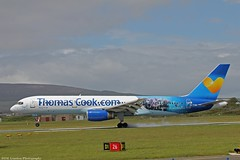 Thomas Cook Boeing 757-200 G-TCBC at Isle of Man EGNS 06/06/15 (IOM Aviation Photography) Tags: man thomas cook boeing isle 757200 060615 egns gtcbc