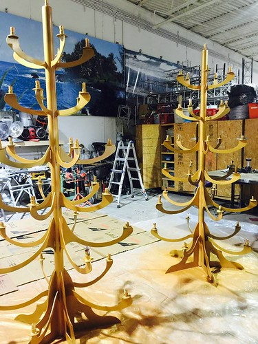 Custom Iron Candelabras