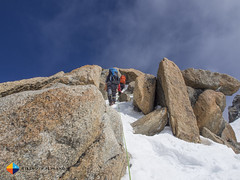 Rock & Snow (HendrikMorkel) Tags: mountains alps mountaineering chamonix alpineclimbing arêtedescosmiques arcteryxalpineacademy2015