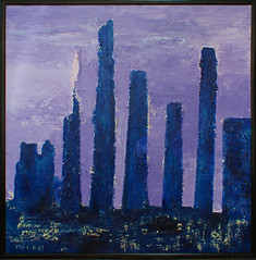 spiritualnight (daniele pennazzi) Tags: city blue abstract black skyline night paint picture violet spiritual effect notte