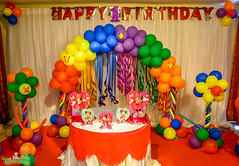 Birthday Decoration (greengrassjaffna) Tags: lunch buffet dinner function hall green grass grand palace wedding birthday party conference concert auditorium marriage reception engagement mandapam manavarai dj dance floor celebration decoration design get together puberty ceremony toys balloon baby