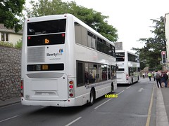 Which way now (Coco the Jerzee Busman) Tags: uk islands coach pointer nimbus ct solo jersey plus alexander dennis sr dart channel caetano enviro optare plaxton libertybus
