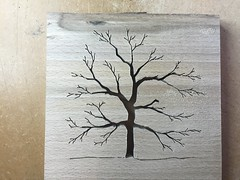 Just finished a tree silhouette. Made from Beech