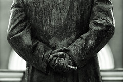 Dear doctor (rsvatox) Tags: street city urban blackandwhite abstract russia outdoor fear objects explore saintpetersburg monuments blacknwhite 90mm monochome