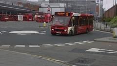 Network Warrington, Optare Solo,  YJ11 EKE (205) (NorthernEnglandPublicTransportHub) Tags: new bus liverpool warrington transport solo lane network 13 sr 205 runcorn widnes halton eke optare m950 m850 loushers yj11
