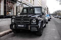 Switzerland (Lucerne) - Mercedes-Benz G 63 AMG 2012 (PrincepsLS) Tags: berlin germany mercedes benz switzerland swiss g plate 63 license lucerne spotting lu amg 2012 g63