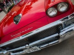 1958 Ford Fairlane (thranth) Tags: cars ford coffee car lumix texas houston panasonic fairlane m43 fordfairlane gf1 microfourthirds 20mmf17 panasonic20mmf17 houstoncoffeeandcars