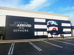 Retail, Sephora, Barricade Graphics