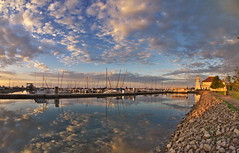 Bronte Outer Harbour Marina (Gavin Edmondstone) Tags: ontario fisheye oakville bronte bronteharbour cans2s bronteouterharbourmarina