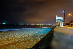 FUJI6651 (kriphoto) Tags: chile color de noche fuji playa invierno norte