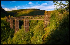 Cymmer Viaduct (Fatdeeman) Tags: bridge southwales wales south railway trains mining viaduct mineral coal colliery afan cymmer cymmerviaduct cymmerafanviaduct