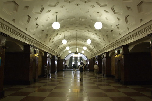 Krasnye Vorota metro station, 14.06.2013.