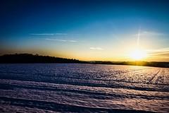 Paysage enneigé (Gaetan682) Tags: ios lightroom bleu ciel soleil followme love like a6000 coucherdesoleil paysage landscapes sunset sel pz 1650 6000 alpha sony