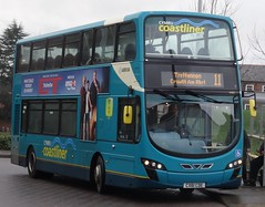 Chester (Andrew Stopford) Tags: cx61cde vdl db300 wright 2dl arriva chester