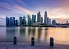 Waterfront city (.Randy.) Tags: sunset cityscape marina bay singapore