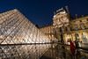 Louvre by Night (Quentin K) Tags: paris louvre red dress night monument france museum