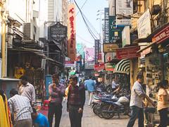 Khan Market, Delhi (jyopattis) Tags: delhi india asia travel outdoor market shop olympus omd