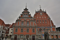 House of the Blackheads, Riga (Deirdre Snook) Tags: the house blackheads was built 1334 it is an imposing structure with beautiful detail