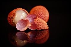 Lychee or litchi (JossieK) Tags: litchi lychee soapberry fruit peeled macromondays litchichinensis itsapeelingtome jossiek