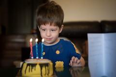 The best things come in threes. 1/100 (jenniferdudley) Tags: nikkor mynikonlife nikonphotography nikon nikond750 lowlight celebration love candles cake boy birthday image1100 100x2017 100xthe2017edition