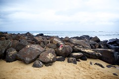 Keep Off (cookedphotos) Tags: travel hawaii kauai poipu beach poipubeachpark sand ocean rocks keepoff typography canon 5dmarkii
