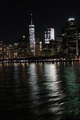 J3 - New York Skyline from the ferry (Guegouzz) Tags: newyork big apple usa skyscrapper