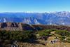 verso nord-ovest (Tabboz) Tags: montagna escursione trekking sentiero cima vetta panorama valle autunno ferrata mugo pino anello sole