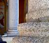 DSCN6557 (dina.elle) Tags: colonna pietra chiesa porticato colonnato affresco