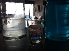walk hydration (pacfolly) Tags: lasvegas vegas powerade drink vodka shotglass