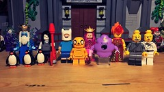 Come Along With Me . . . (LordAllo) Tags: lego adventure time finn jake marceline vampire queen princess bubblegum ice king earl lemongrab gunther gunter flame lumpy space