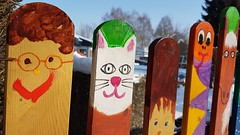 Funny Fence (Been Around) Tags: funny fence funnyfence 20170119125306 austria autriche aut a austrian europe eu europa expressyourselfaward europeanunion salzkammergut salzkammergutregion regau rutzenmoos winter januar jänner 2017 hiver thisphotorocks upperaustria österreich onlyyourbestshots oberösterreich oö zaun kindergarten bunt