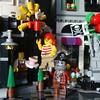 Hooray for free coffee (captain_joe) Tags: square quadrat toy spielzeug 365toyproject lego series14 minifigure minifig pirat pirate cutlass modularhouse assemblysquare cafe