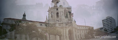 sprocketbeach009a (javfutura) Tags: doubleexposure city hall sprocketrocket kodak gold 200