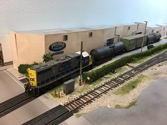 Lance Mindheim's #HOSCALE Downtown Spur layout (TolgaEastCoast) Tags: hoscale
