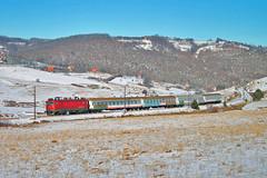 "IC 431 ""TARA"" Belgrade- Bar (Mladja_IC431) Tags: trains railway 431 tara zlatibor branesci serbia jokinovrelo mountain winter snow sun afternoon locomotive railroad barska pruga railpassion railfan"