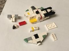 Ghost exploded view (tbone_tbl) Tags: lego ghost mini miniscale micro microscale exploded view instructions cut away cutawy cutaway