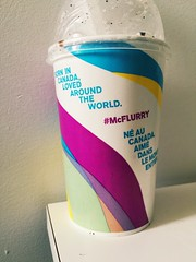 """Born in Canada, loved around the world"" #mcflurry (Ekinoxies) Tags: mcflurry"