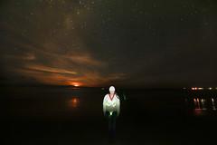 GOR 18 (aaron saye) Tags: light sky moon lighthouse beach june canon painting amazing kiss kissing paint aaron creative australia victoria moonrise laser chuck greatoceanroad lazer 2015 queensbirthday gor longweekend saye splitpoint pixelstick