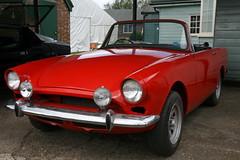 1966 Sunbeam Alpine (davocano) Tags: auction brooklands carauction classiccarauction historicsatbrooklands kln586d