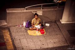 (Manlio'77) Tags: poverty people urban woman thailand sadness asia alone loneliness child sad bangkok streetphotography documentary beggar abandon portraiture lonely misery vignetting begging sukhumvit southasia nikond5200