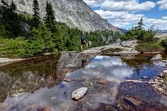 Overcoat and Little Big Chief (nwpuzzlr) Tags: mountain hiking climbing cascades snoqualmie overcoat middlefork dutchmillergap littlebigchief 2015hikes