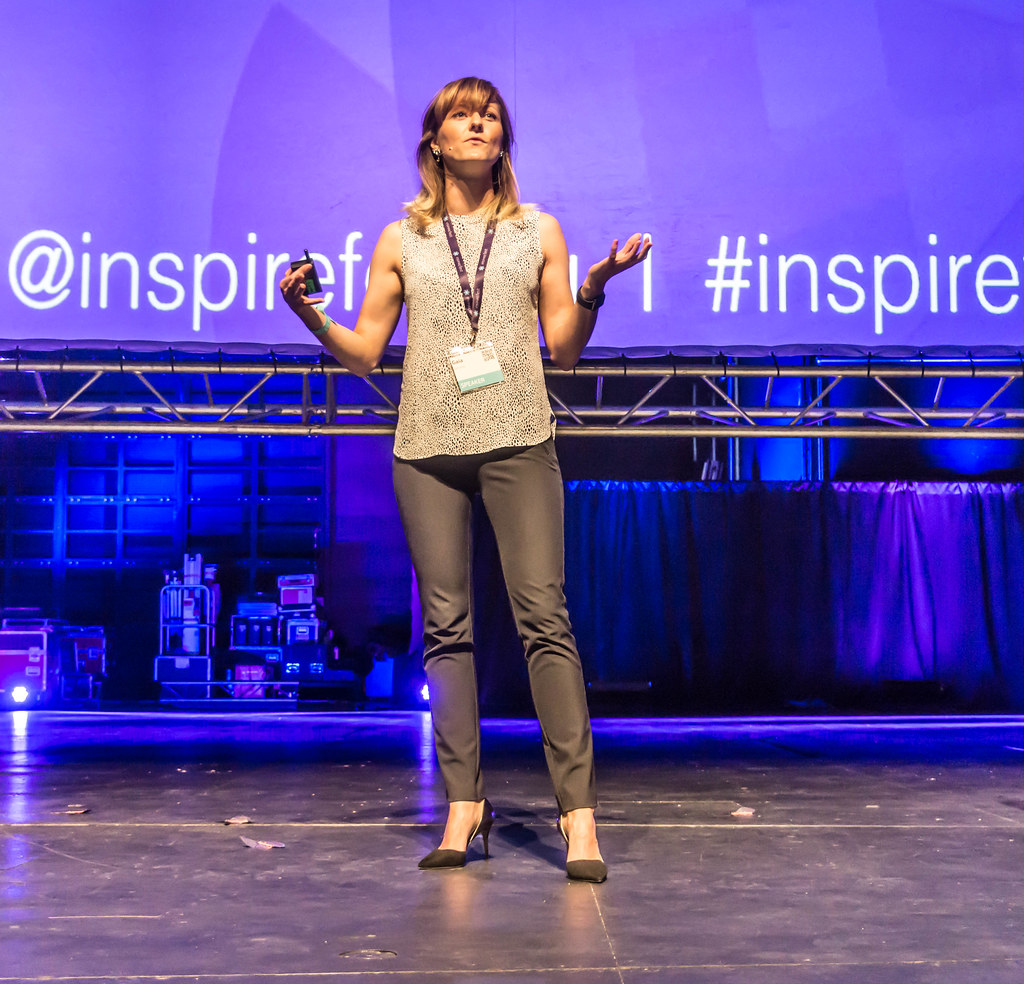 GAIA DEMPSEY AT INSPIREFEST 2015 [CO-FOUNDER, MANAGING DIRECTOR, DAQRI INTERNATIONAL] REF-105810