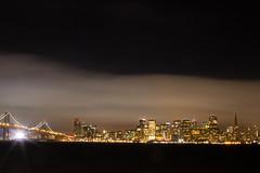 CityLights (karlitas_way) Tags: ocean sanfrancisco california longexposure bridge skyline architecture thecity baybridge nightlife thebay nightshooters