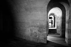 Corridor (tomabenz) Tags: street blackandwhite bw paris monochrome noiretblanc streetphotography streetview panthon sonya7