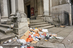 20150707-11-55-20-DSC02422 (fitzrovialitter) Tags: fitzrovia fitzrovialitter camden westminster rubbish litter dumping flytipping trash garbage london urban street environment streetphotography westend marylebone mayfair soho bloomsbury captureone peterfoster stgeorges church stgeorge hanoversquare