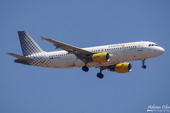 Vueling --- Airbus A320 --- EC-KDG (Drinu C) Tags: plane aircraft aviation sony airbus dsc a320 mla vueling lmml eckdg hx100v adrianciliaphotography